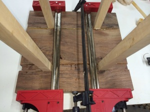 Third glue up...Jet clamps make glue ups easy