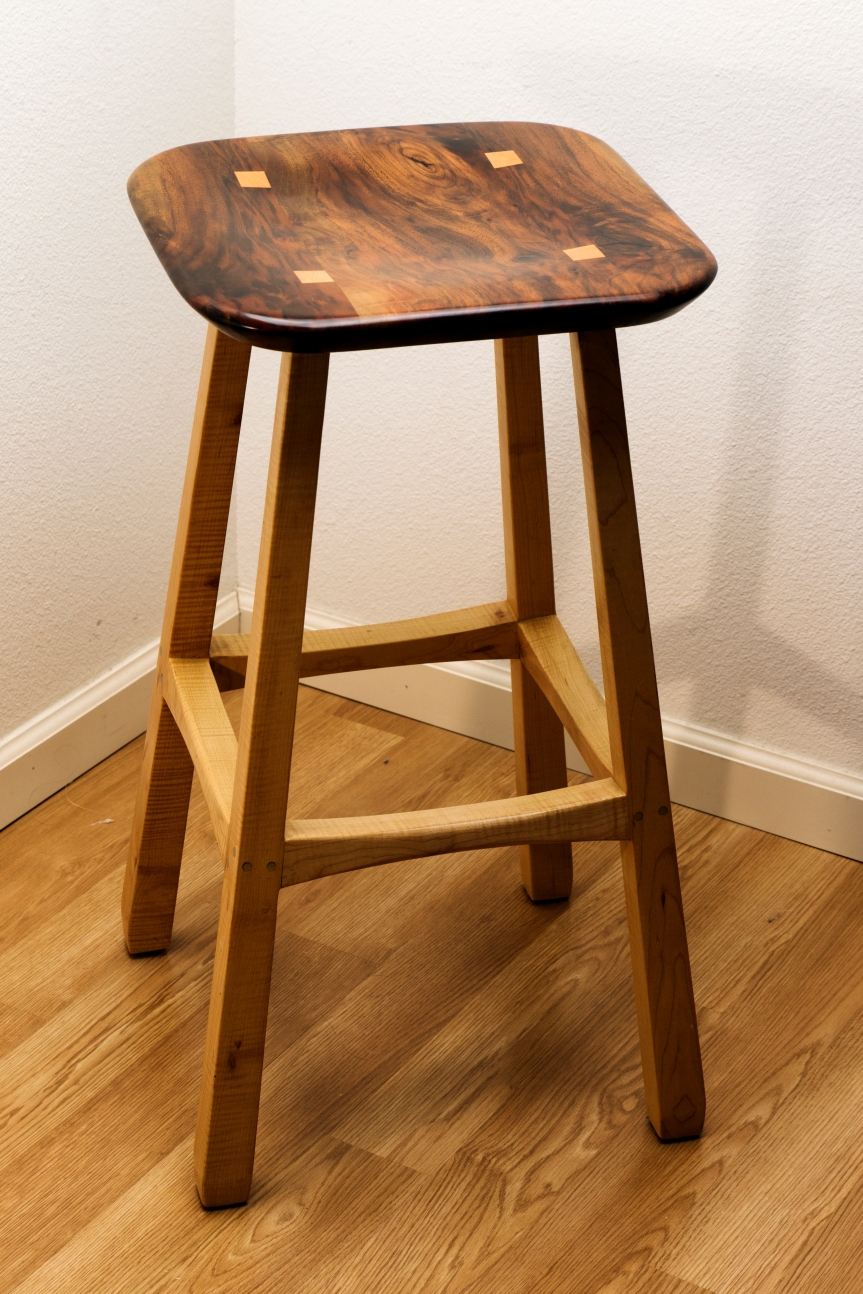 David Marks Inspired Stool