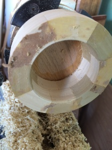 """Inside trued just under 2-1/2"""" inches in diameter to allow for sanding."""