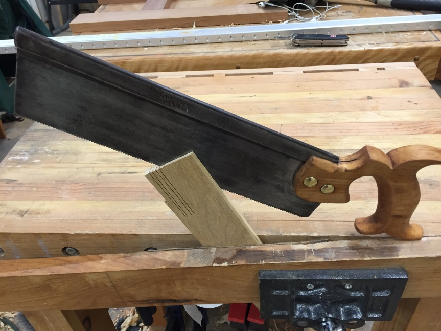 Back Saw Restoration