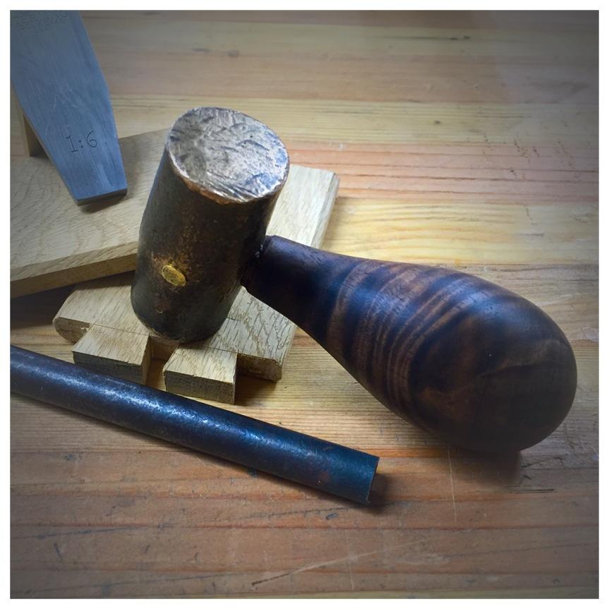 Brass Chisel Hammer