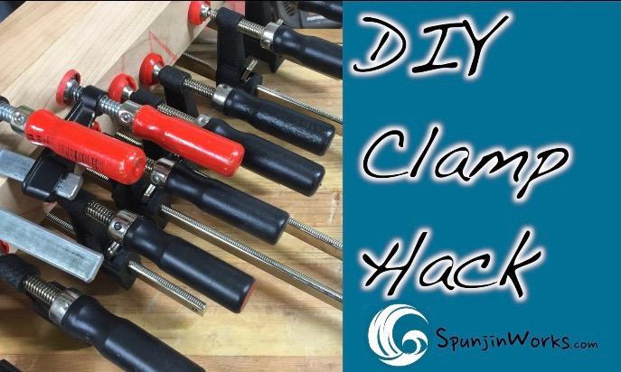 DIY Clamp HandleImprovement