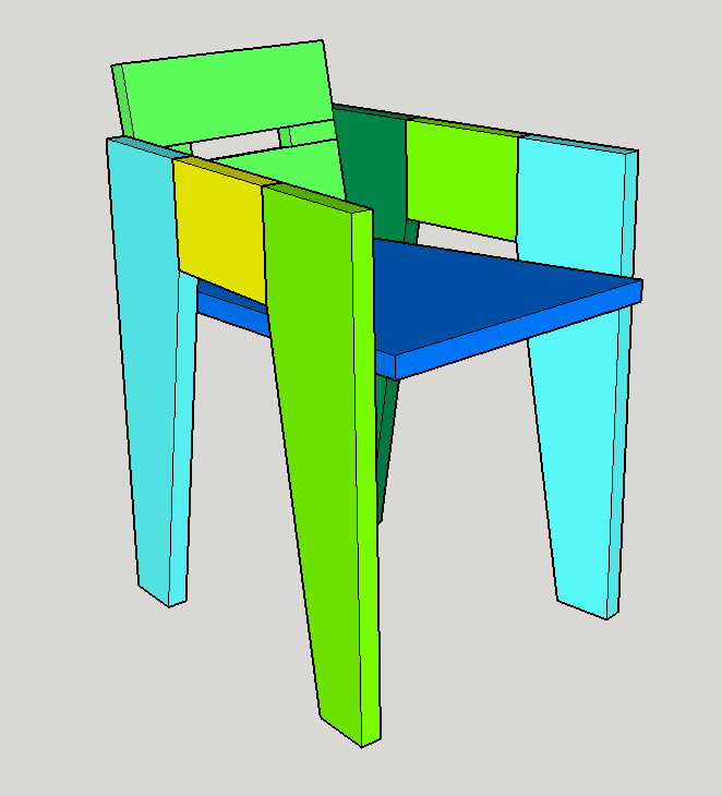 Easy Shop Chair from ConstructionMaterials