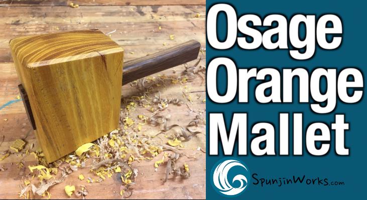 Make a Joiner's Mallet from OsageOrange