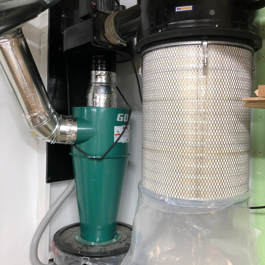 Harbor Freight 2 HP Dust CollectorModification